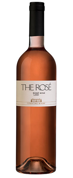 2016 Cosentino Winery THE Rosé, Lodi, 750ml