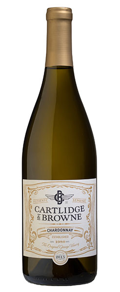 2017 Cartlidge & Browne Chardonnay, California, 750ml