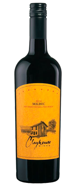 2014 Clayhouse Malbec, Red Cedar Vineyard, Paso Robles, 750ml