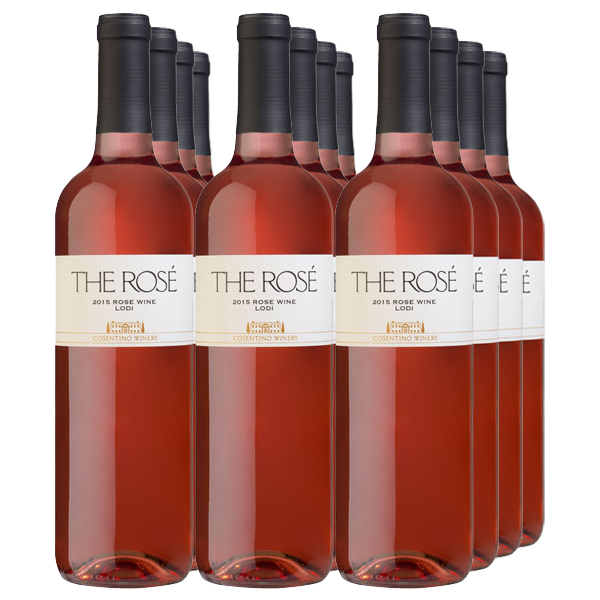 Cosentino 2015 THE Rose 12-Pack