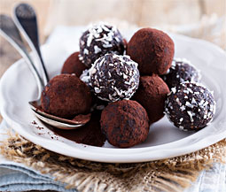 Coconut Curry Truffles Image