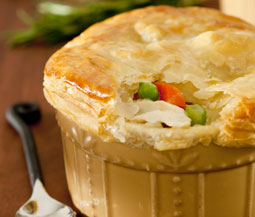 Curry Turkey Pot Pie