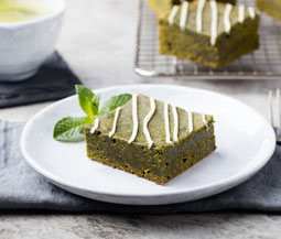 Matcha Green Tea Blondies