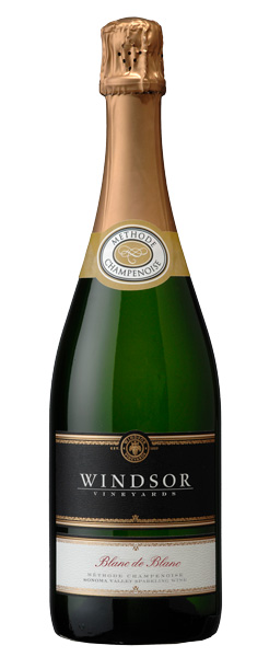 Windsor Blanc de Blancs, Sonoma County, Platinum Series, 750ml