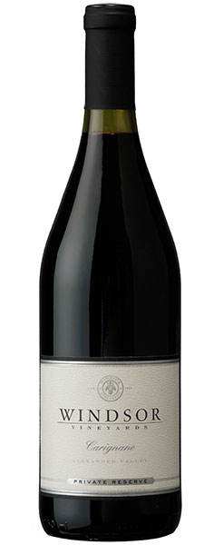 2016 Windsor Carignane, Alexander Valley, Private Reserve, 750ml