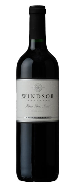 2014 Windsor Three Vines Red, North Coast, Private Reserve, 750ml