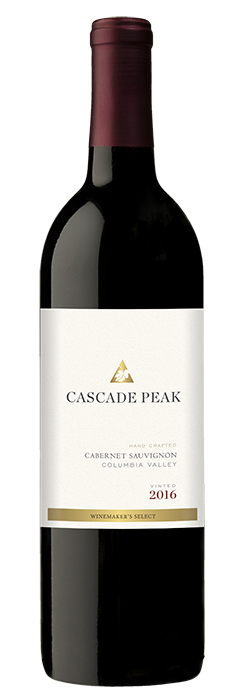 2016 Cascade Peak Cabernet Sauvignon, Columbia Valley, 750ml